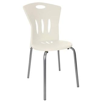 Plastik Sandalye Beyaz