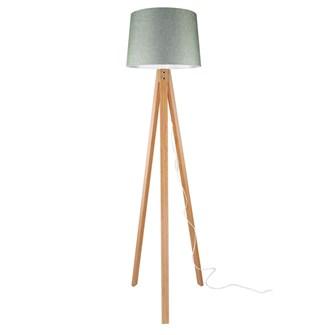 Modelight Deko Lambader Bambu Ayak / Yeşil Şapka