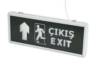 Cata Ct-9174 Ledli Exit Armatür (3 Saat Şarjlı)