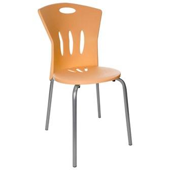 Plastik Sandalye Turuncu