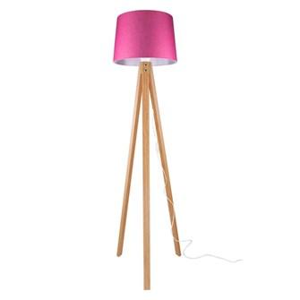 Modelight Deko Lambader Bambu Ayak / Pembe Şapka